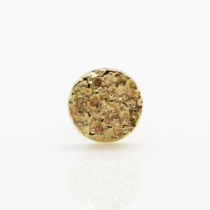 disc of sand Auris jewelry